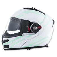 LS2 Metro Firefly White Modular Helmet
