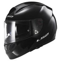 LS2 Citation Solid Gloss Black Full Face Helmet