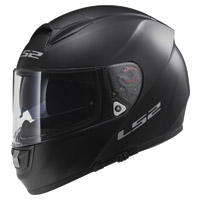 LS2 Vector Solid Matte Black Full Face Helmet