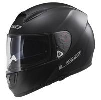 LS2 Citation Solid Matte Black Full Face Helmet