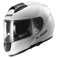 LS2 Vector Solid White Full Face Helmet