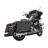 Bassani 4″ Chrome with Chrome Tip Straight Mufflers