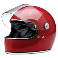 Biltwell Inc. Gringo S Gloss Blood Red Full Face Helmet