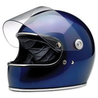 Biltwell Inc. Gringo S Gloss Metallic Navy Full Face Helmet