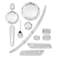 Arlen Ness Beveled Chrome Accessory Package
