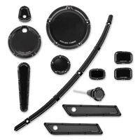 Arlen Ness Beveled Black Accessory Package