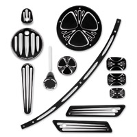Arlen Ness Deep Cut Black Accessory Package