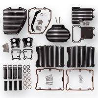 Arlen Ness 10-Gauge Black Motor Transmission Package