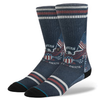 Stance Men's Liberated Navy Crew Neck Socks
