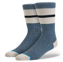 Stance Men's Hiver Blue Crew Neck Socks