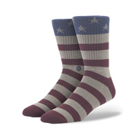 Stance Men's The Fourth Red Crew Neck Sock