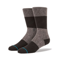 Stance Men's Spectrum Black Crew Neck Socks