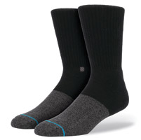 Stance Men's Transition Black/Gray Crew Neck Socks