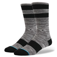 Stance Men's Smudge Gray Crew Neck Socks