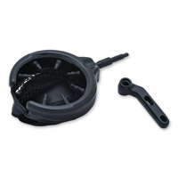 Kuryakyn Black Drink Holder with Basket