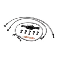 Goodridge Non-ABS Front +4″ High-End Brake Line Kit
