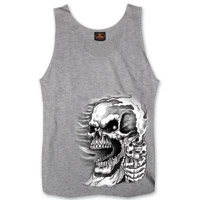 Hot Leathers Men's Assassin Grey Tank Top