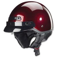 Zox Banos STG Cherry Red Half Helmet