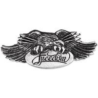 Hot Leathers Freedom Eagle Pewter Pin