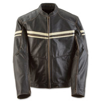 Black Brand Men's Cutthroat Brown Leather Jacket