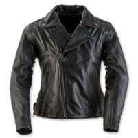 Black Brand Women's Sapphire Black Leather Jacket