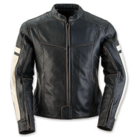 Black Brand Women's Eternity Black Leather Jacket