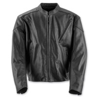 Black Brand Men's Killer Black Leather Jacket