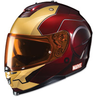 HJC IS-17 Marvel Iron Man Red/Yellow Full Face Helmet