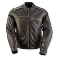 Black Brand Women's Vintage Rebel Black Leather Jacket