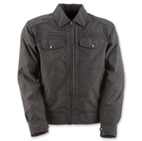 Black Brand Men's Street Team Dark Gray Textile Jacket