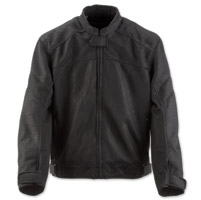 Black Brand Men's Flow Black Mesh Jacket