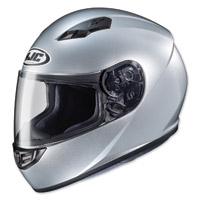 HJC CS-R3 Silver Full Face Helmet