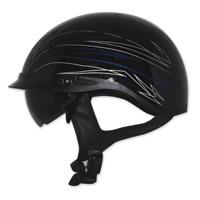 Zox Ignite Roadster DDV Blue Half Helmet