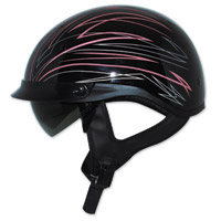 Zox Ignite Roadster DDV Pink Half Helmet