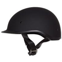Zox Polo Sport Matte Black Half Helmet