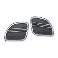 Kuryakyn Chrome Tri-Line Speaker Grills