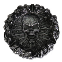 Hot Leathers Skull Pyre Ashtray