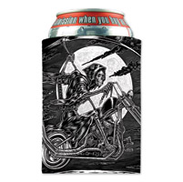 Hot Leathers Scroll Can Koozie