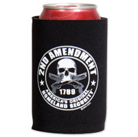 Hot Leathers 2nd Amendment Can Koozie