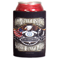 Hot Leathers Born Free Eagle Can Koozie