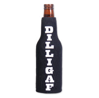 Hot Leathers Dilligaf Bottle Koozie
