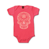 Hot Leathers Girl's Poco Loco Hot Pink Onesie
