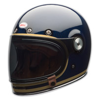 Bell LE Bullitt Carbon Candy Blue Full Face Helmet