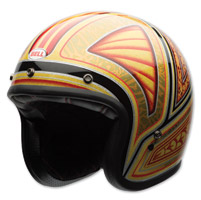 Bell LE Custom 500 Tagger Flashback Open Face Helmet