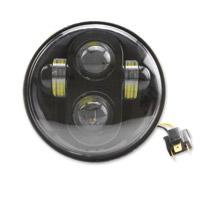Cyron 5-3/4″ LED Black Headlight