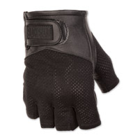 Black Brand Men's High Flow Black Mesh Gloves