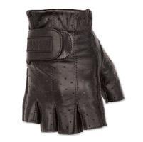 Black Brand Men's Classic Shorty Black Leather Gloves