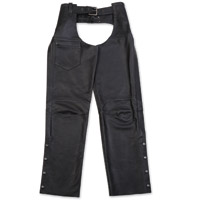 Black Brand Women's Hotness Black Leather Chaps