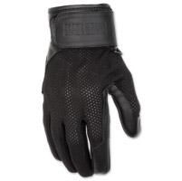 Black Brand Women's Cool Rider Black Mesh Gloves