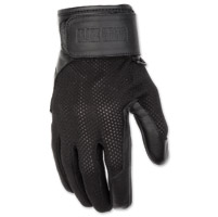 Black Brand Women's Cool Rider Black Mesh Gloves
